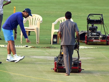 Dhoni may not like it, but everything, from the pitch to match timings, are tailored to suit TV audiences. AFP file image