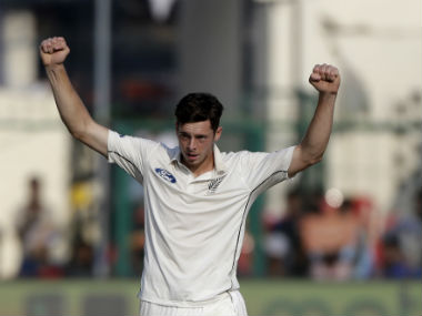 India vs New Zealand 2016: Mitchell Santner, Trent Boult help Black Caps claw back on Day 1