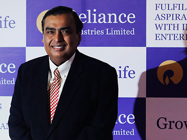 Mukesh Ambani. Reuters