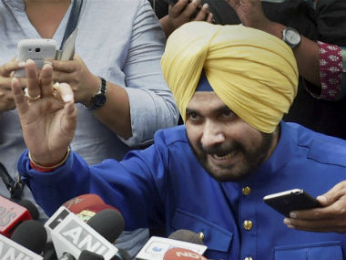 A file photo of Navjot Singh Sidhu. PTI