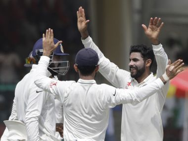 Ravindra Jadeja gives a glimpse of the dangers that await New Zealand in the series