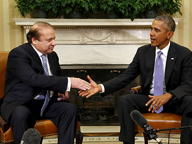 Nawaz Sharif and barack Obama. Reuters