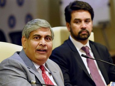 ICC chairman Shashank Manohar congratulates BCCI for India's 500th Test match