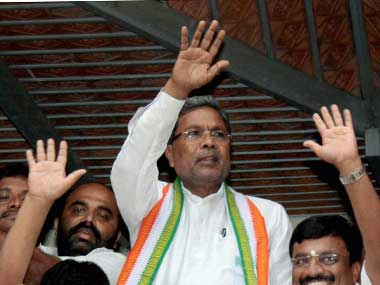 A file photo of Siddaramiah. PTI