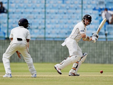 New Zealand warm up for India Tests with quality batting practice against Mumbai