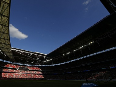 London's Wembley Stadium. AFP file image