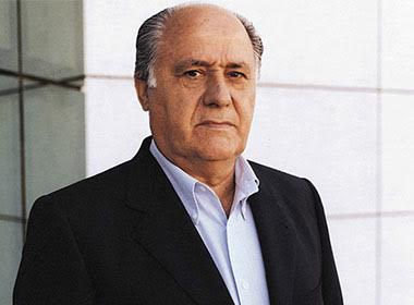 Amancio Ortega, founder of fashion group Inditex. Image: Wikicommons