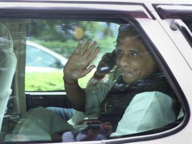 File image of Union Minister Rajnath Singh. PTI
