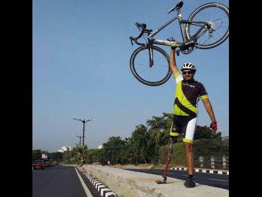 Aditya Mehta. Image Credit: Facebook/ Aditya Mehta Cyclist