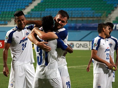 File photo of Bengaluru FC. Twitter/Bengaluru FC