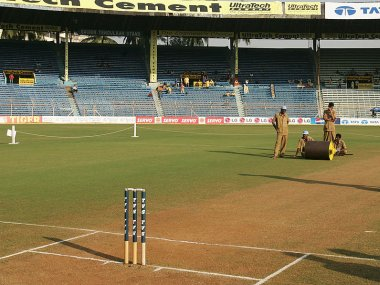 Representational image of a natural cricket pitch in India. Getty Images