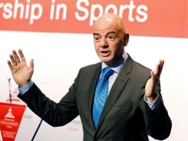 File photo of Gianni Infantino. Reuters