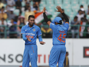 India vs New Zealand: MS Dhoni backs Hardik Pandya as one of his key pacers for Champions Trophy 2017