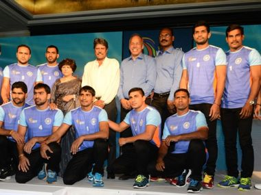 Indian Kabaddi Team. Image Courtesy - Star Sports