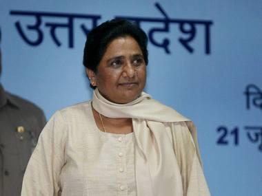 BSP chief Mayawati. File photo. PTI