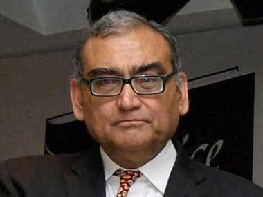 File photo of Justice Markandey Katju. PTI