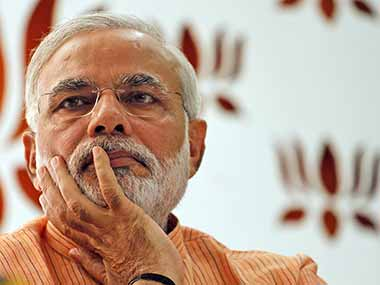 File photo of Narendra Modi. AP