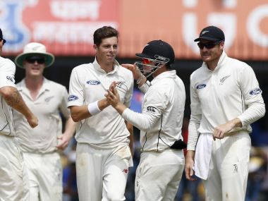 India vs New Zealand, Indore Test: Jimmy Neesham says keeping the run rate down has kept Kiwis in hunt