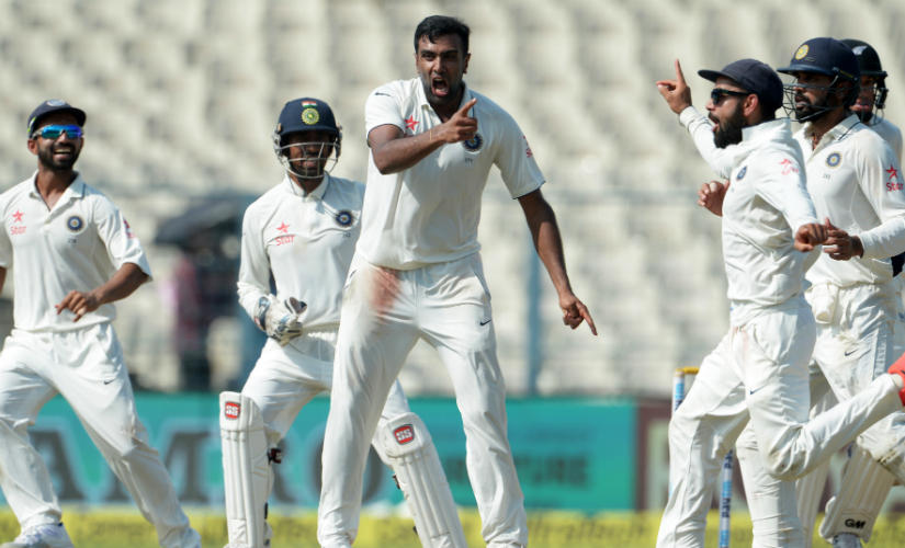 Ravichandran Ashwin produced his best performance against New Zealand. AFP