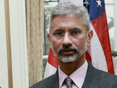 File photo of S Jaishankar. PTI