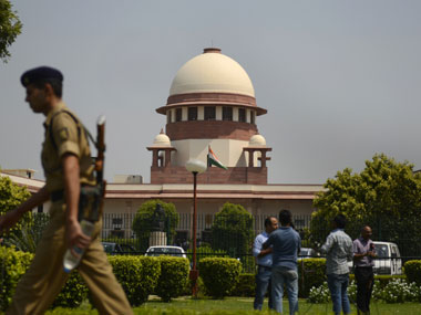 Supreme Court of India. AFP