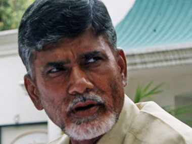 File image of Chandrababu Naidu. News 18