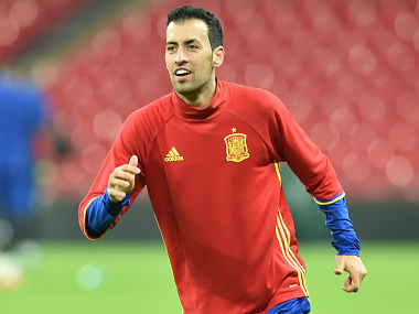 File image of Sergio Busquets. AFP