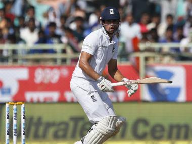 England captain Alastair Cook. AP