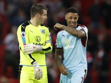 File photo of Andre Gray. Reuters