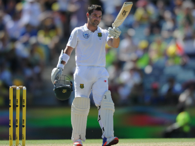 Dean Elgar's partnership with JP Duminy consolidated the Proteas' mammoth lead. AFP