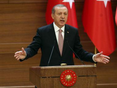 File photo of Recep Tayyip Erdogan. AFP