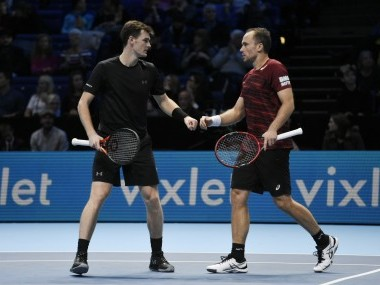 ATP Finals: Jamie Murray-Bruno Soares clinch year-end top men's doubles ranking