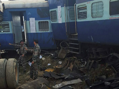 LIVE: Patna-Indore Express derails; PM Modi addresses Agra rally, says rescue ops on