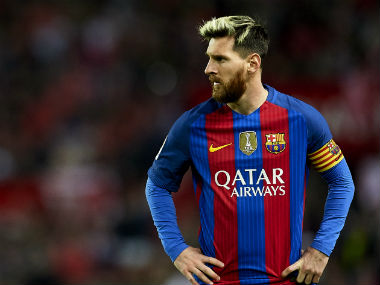 Lionel Messi's contract with FC Barcelona is set to expire next year. Getty Images