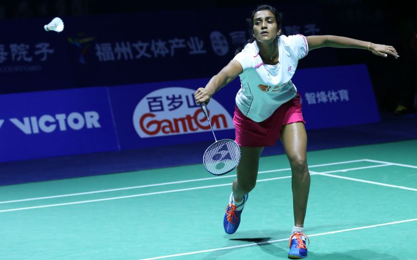 India's PV Sindhu is aiming for her second consecutive title. AFP