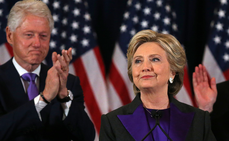 It was meant to be a day of celebration but instead, Hillary Clinton brought down the curtain on her historic run for the White House – the likely coda to a decades-long career in the public eye. Reuters