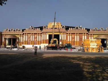 A picture of the wedding venue. Picture courtesy: TS Sudhir