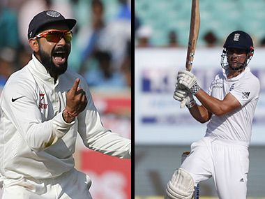 India vs England, 2nd Test, Day 4, Highlights: Hosts edge ahead with Cook's wicket