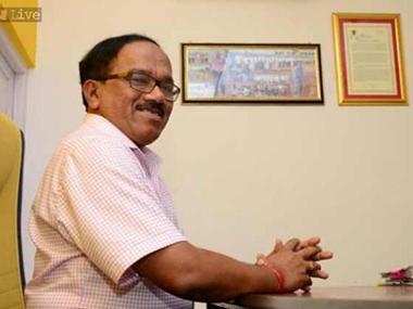 Goa CM Laxmikant Parsekar. News18
