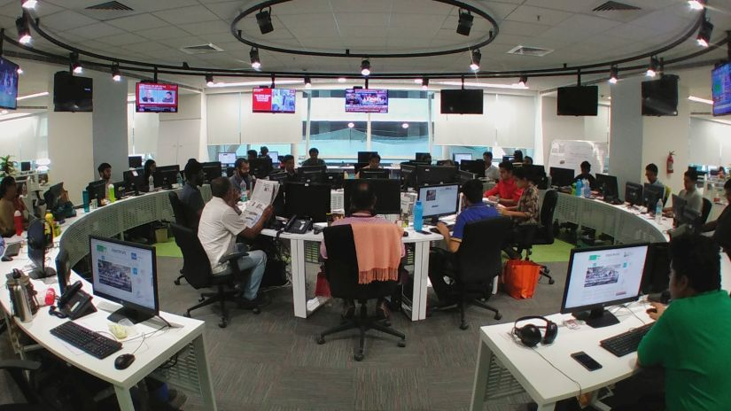 The Firstpost newsroom