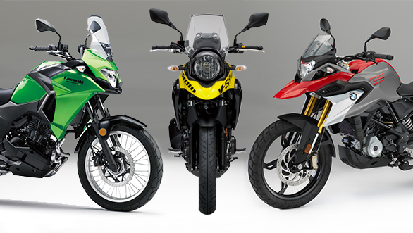 Stupendous Spec Comparo Bmw G 310 Gs Vs Kawasaki Versys X 300 Vs Gmtry Best Dining Table And Chair Ideas Images Gmtryco