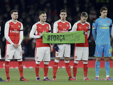 Chapecoense plane crash: Arsenal's Gabriel pays tribute to victims in emotional video