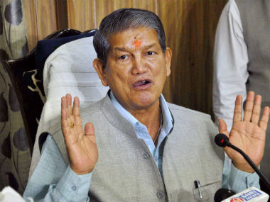 File photo of Harish Rawat. PTI