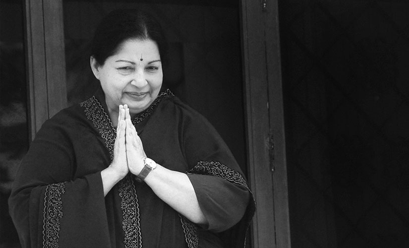 File image of late Tamil Nadu chief minister J Jayalalithaa. AFP