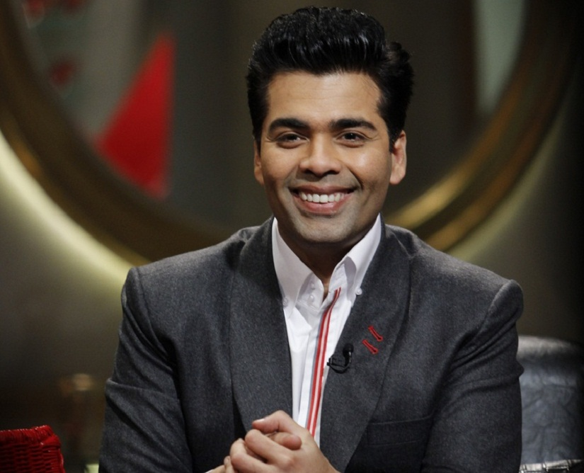 Karan Johar. Image courtesy: 'Koffee With Karan' still