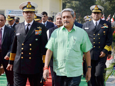 File photo of Defence Minister Manohar Parrikar. PTI