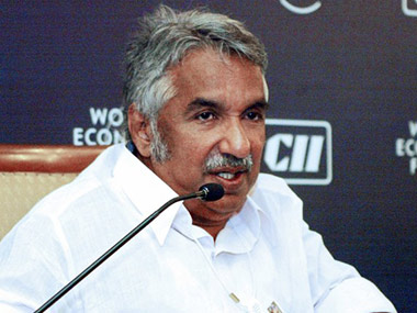 Former CM of Kerala Oommen Chandy. AFP