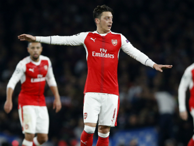 Arsenal's Mesut Ozil credits his family for his footballing success