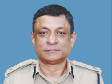 CRPF IGP Satish Verma. Image courtesy CRPF website