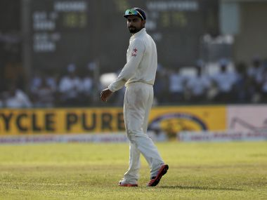 Virat Kohli looks on during the Galle Test. Reuters